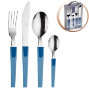 2Tones Sky Sea Blue Set Cutlery 24 Pcs Pinti