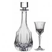 Adagio Set Liquore 7/Pz Crystal Glass