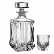 Adagio Set Whisky 7/Pz Crystal Glass