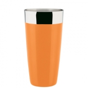 Agitatore Boston Gommato 900 ml Arancio