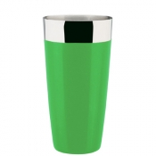 Agitatore Boston Gommato 900 ml Verde