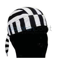 dolphinpoint.it - shop on line - Bandana Cuoco Bianco Nero 4dbc0767165c