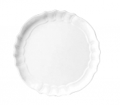 Barocco Royale White Round Dish Cm 50