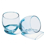 Barrel Set 3 Bicchieri Acqua 34 cl Turchese