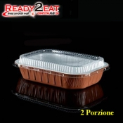 CONTENITORE Ready2Eat 2P Bianco Terracotta