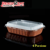 CONTENITORE Ready2Eat 4P Bianco Terracotta