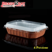 CONTENITORE Ready2Eat 6P Bianco Terracotta