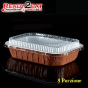 CONTENITORE Ready2Eat 8P Bianco Terracotta