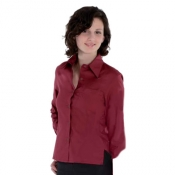 Lady Shirt Anversa Burgundy