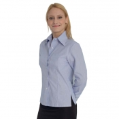 Lady Shirt Anversa Striped White/Blue
