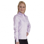 Lady Shirt Anversa Striped White/Lilac