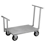 Stainless universal trolley