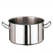 Saucepot Cm 24 Stainless Steel Paderno 2000 Line