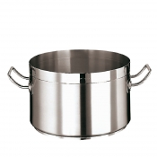 Saucepot Cm 24 Stainless Steel Paderno 2100 Line