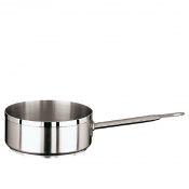 Saute Pan 1 Handle Cm 20 Stainless Steel Paderno 1100 Line