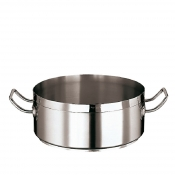 Casserole Pot Cm 24 Stainless Steel Paderno 2100 Line