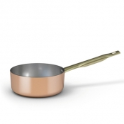 Copper Low Saucepan 1 Handle Cm 24 Ballarini 1500 Line
