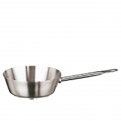 Saute Pan 1 Handle Cm 24 Stainless Steel Paderno 1100 Line