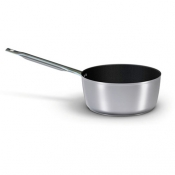 Non-Stick Coating Medium Saucepan 1 Handle Cm 28 Aluminium Ballarini 5000 Line