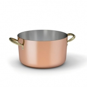Copper Medium Casserole Cm 24 Ballarini 1500 Line
