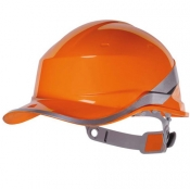 ELMETTO BASEBALL DIAMOND 5 ARANCIO FLUO