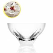 Fusion Coppa Macedonia  245 mm Crystal Glass