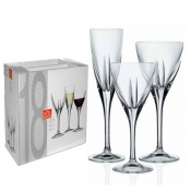 Fusion Set Calici 18/Pz Crystal Glass