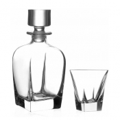 Fusion Set Whisky 7/Pz Crystal Glass