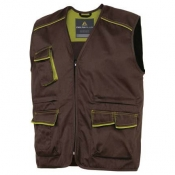 GILET PANOSTYLE M6GIL MARRONE/VERDE