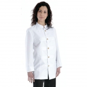 Jacket Unisex Barman White With Braidings