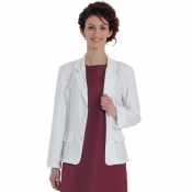 Lady Jacket Barby 1 Brest 3 Bottons White