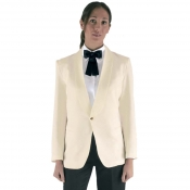 Jacket Smoking Cream With Golden Botton