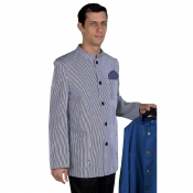 Jacket Vergatina White/Blue Striped