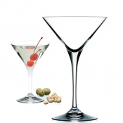 Invino Set 6 Calici Martini 24 cl Crystal Glass
