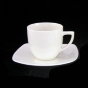 Karolina Hiruni Bone China Tazza Caffè Cl 10 C/Piattino