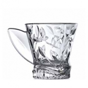 Laurus Set 6 Tazze The 16 cl Crystal Glass