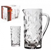 Laurus Set Bibita 7/Pz Crystal Glass