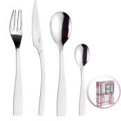 Led White Set Cutlery 24 Pcs Pinti