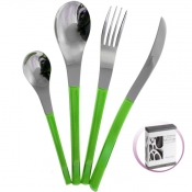 Movie Green Set Cutlery 24 Pcs Pinti