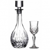 Opera Set Liquore 7/Pz Crystal Glass