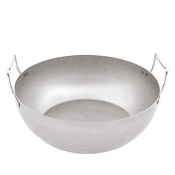 Frying Pan 2 Handles Cm 40 Steel Paderno