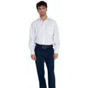 Man Trousers Blue With Zipfly