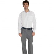 Man Trousers Gray With Zipfly