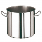 Stock Pot Cm 28 Stainless Steel Paderno 2000 Line