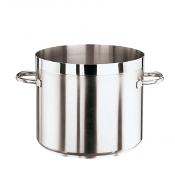 Low Stock Pot Cm 28 Stainless Steel Paderno 1100 Line