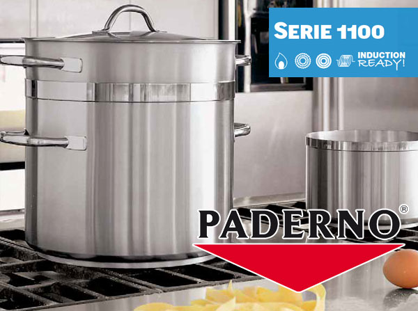 Stainless Steel Cookware Paderno 1100 Line