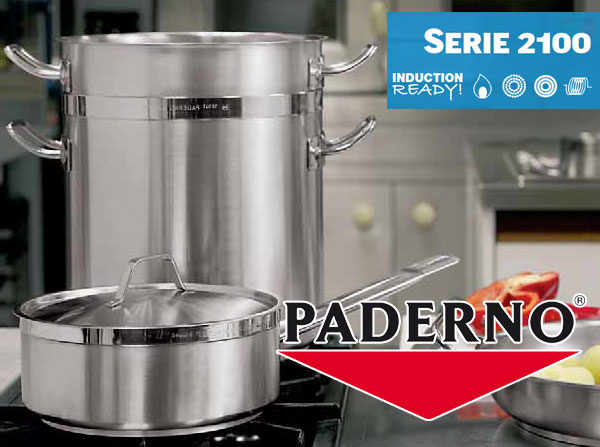 Stainless Steel Cookware Paderno 2100 Line