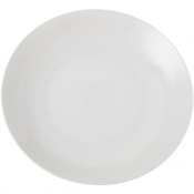 Perla Bone China Piatto Tondo Coupe Cm 30