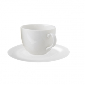 Perla Bone China Set 4 Tazze The Cl 21 C/Piattino