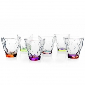 Riflessi Set 6 Bicchieri Dof Acqua 30 cl Crystal Glass